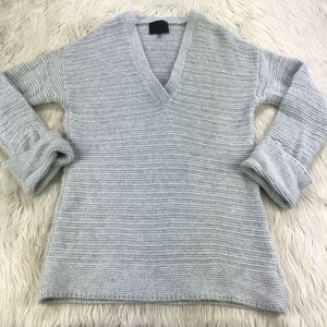 Intermix Deep V-Neck Pull Over Sweater